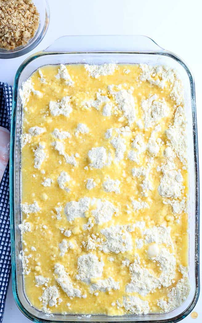butter on cake mix