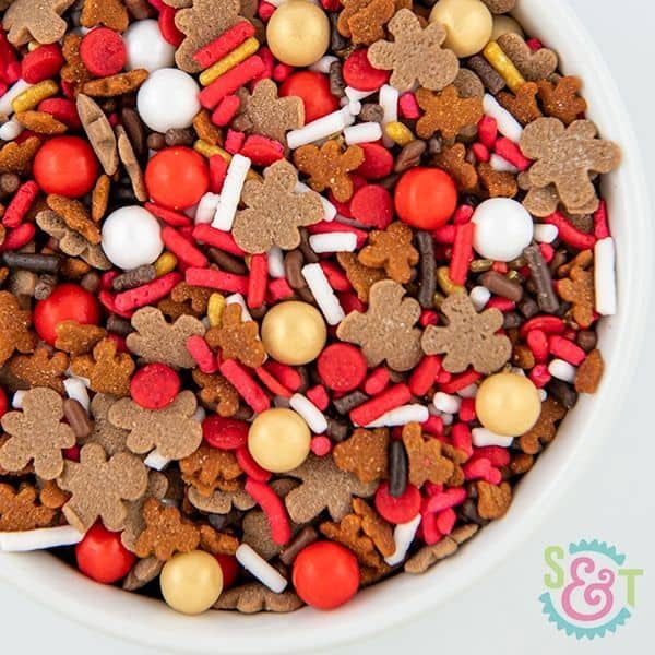 Reindeer Food Sprinkles Mix