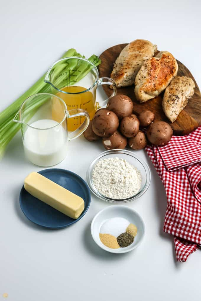 ingredients for cream soups