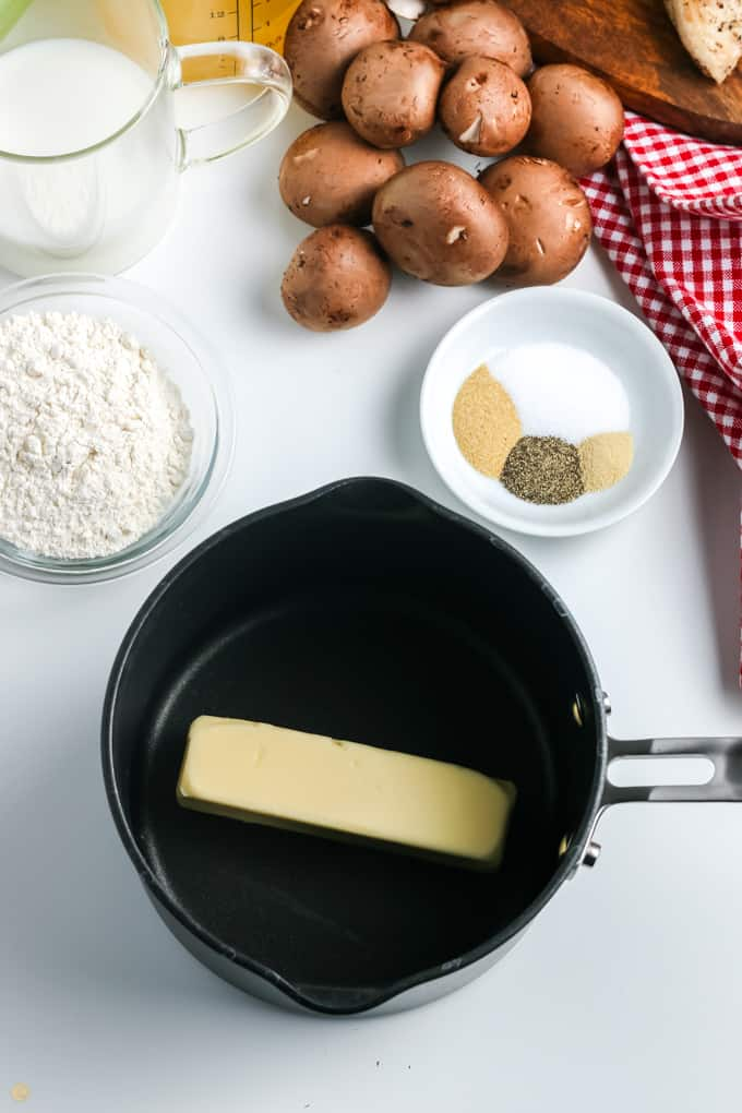 butter in a pot