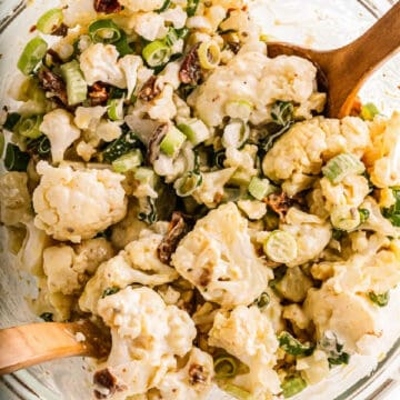 salad of cauliflower