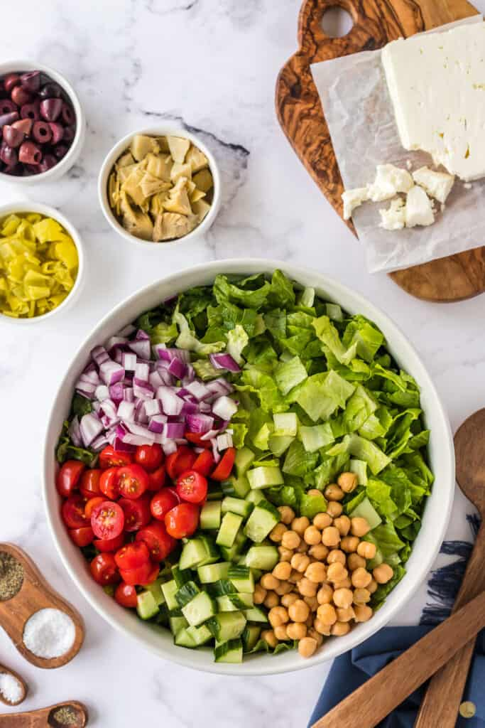 toppings on a salad
