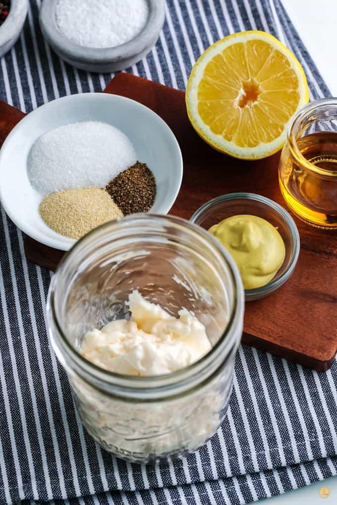 mayo in a jar