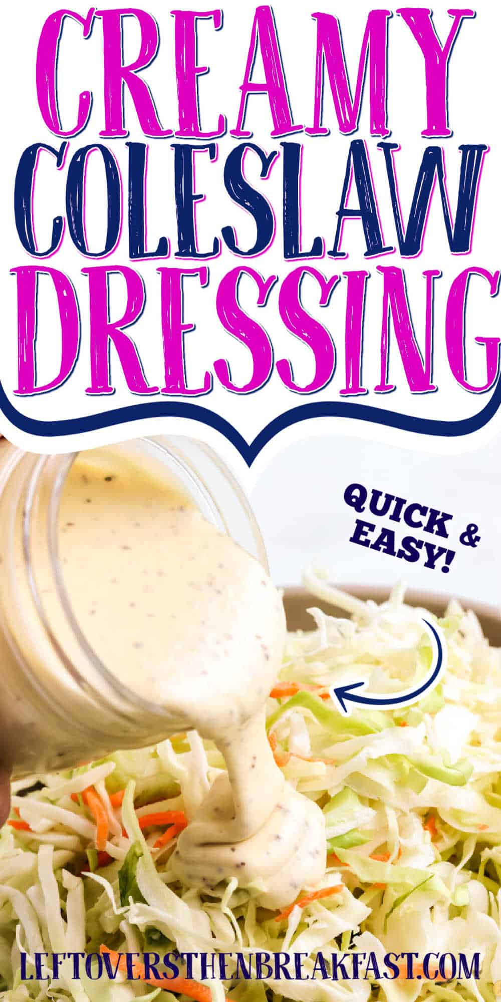 """dressing with text """"coleslaw dressing"""""""