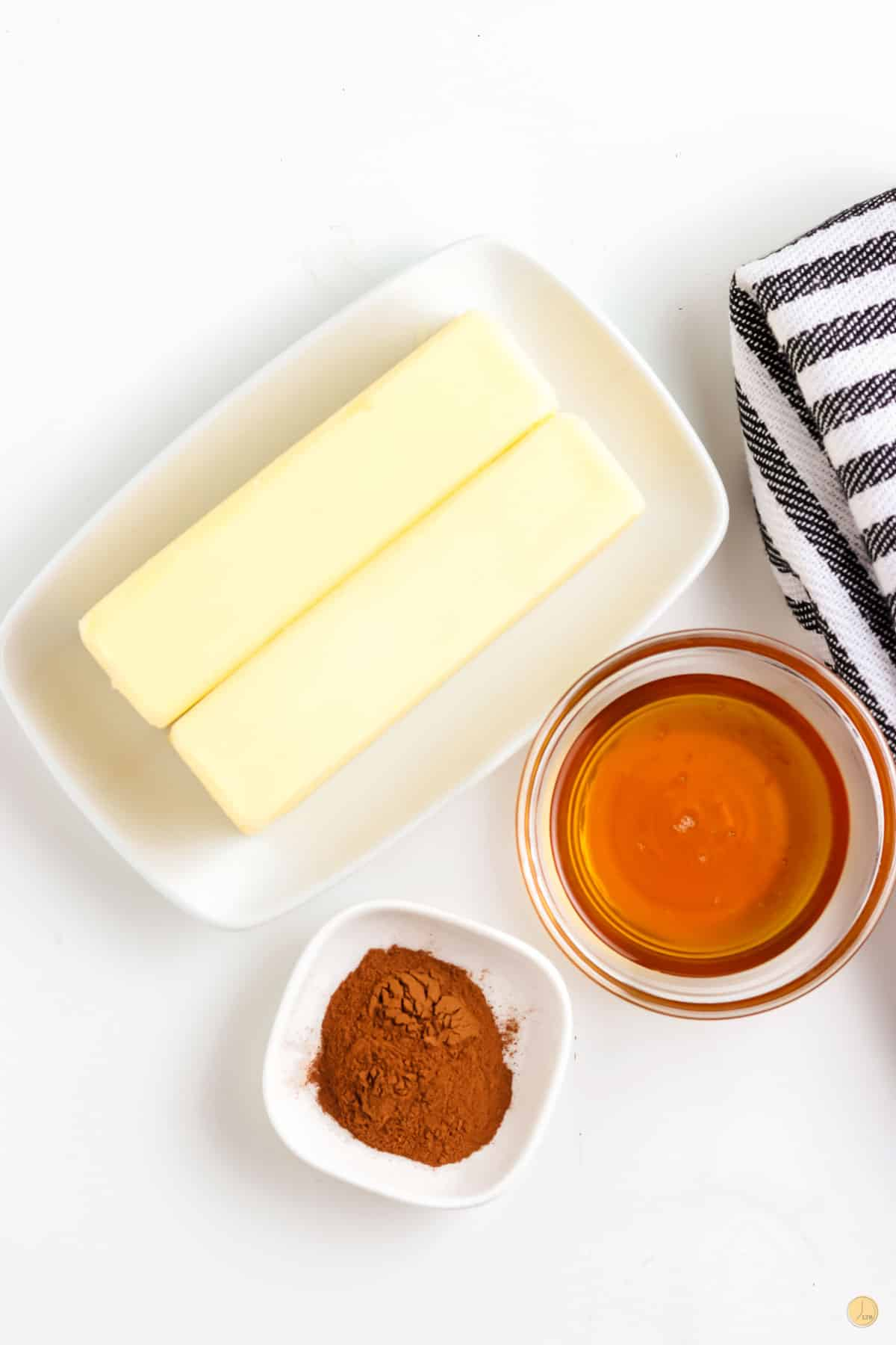 ingredients for hony butter