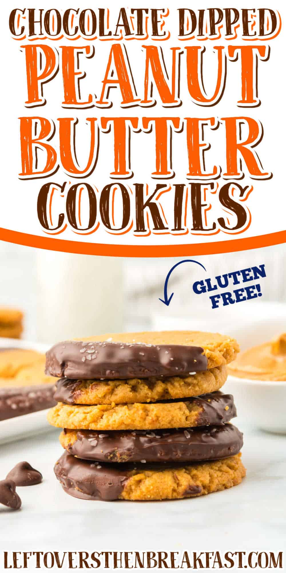 """stack of cookies with text """"gluten free"""""""