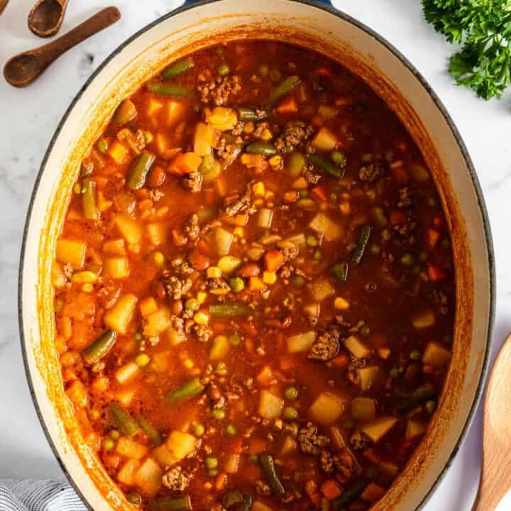 pot of hobo stew