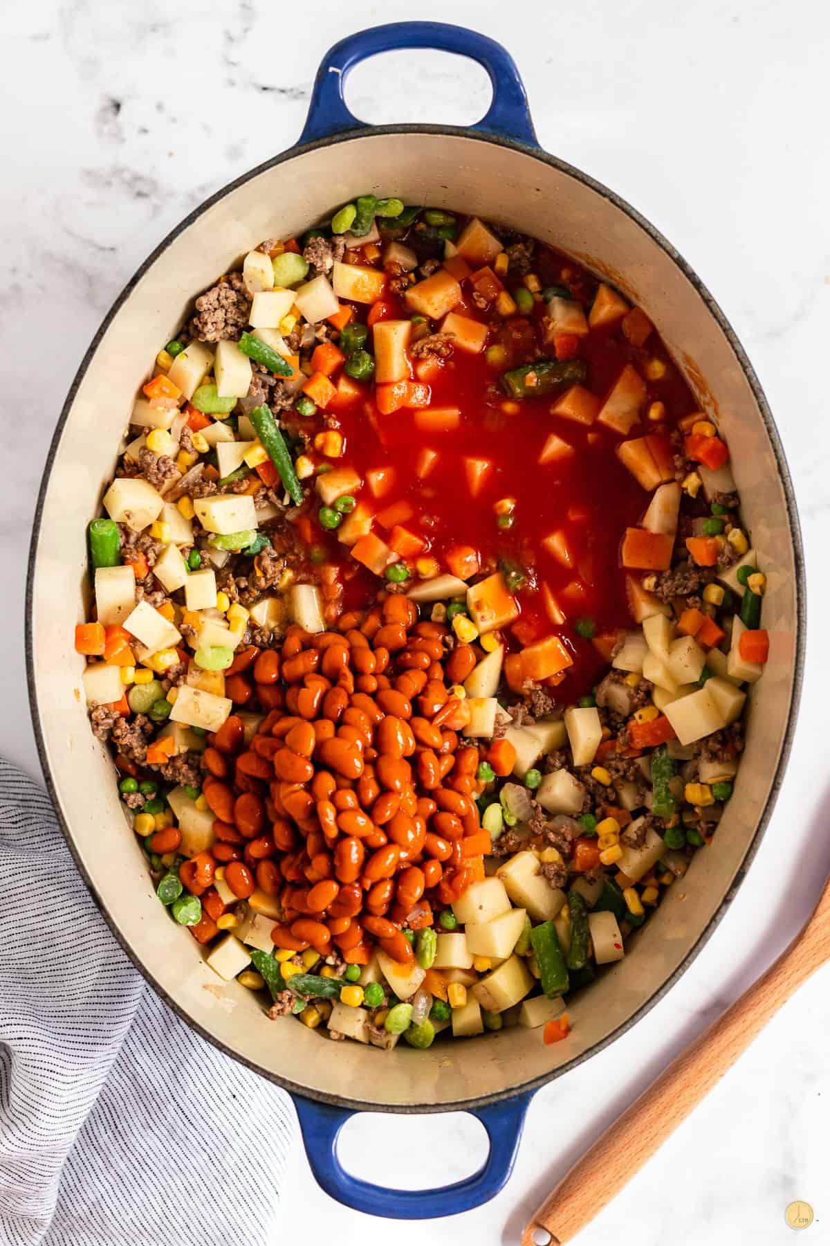 soup in a pot